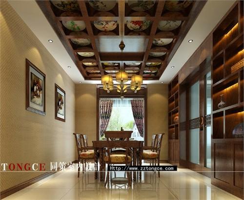 同策室内设计~新中式景观风格建筑设计杭州作品集图片