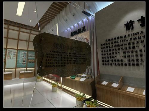 内蒙古某军队展厅设计方案图片