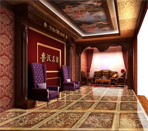 醍恩红酒商务会所_美国室内设计中文网