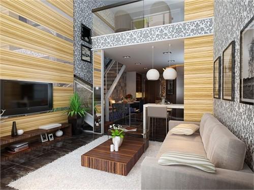 时尚loft_美国室内设计中文网