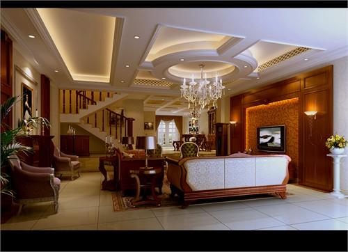 雍锦湾古典欧式_美国室内设计中文网