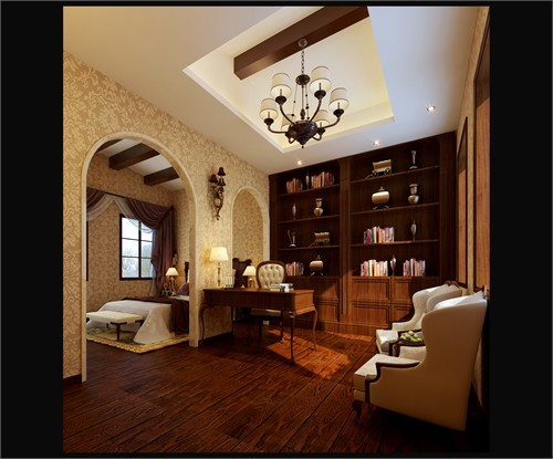 ㎡-卧室装修效果图;