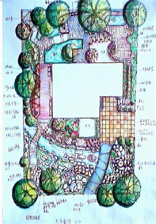 景观设计  私宅景观
