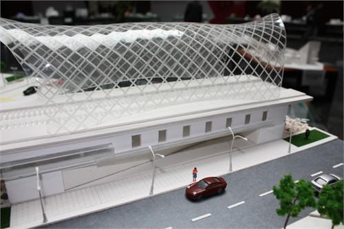 轻轨建筑设计 设备