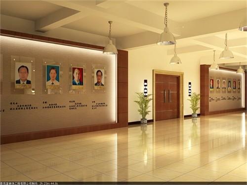 为学校做的展厅从展厅的室内设计到展板的设计~