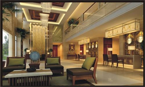 海岛酒店室内装修