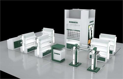 宽553×418高 时尚空间展示设计图片,商业空间设计,室内模型,3d设计模