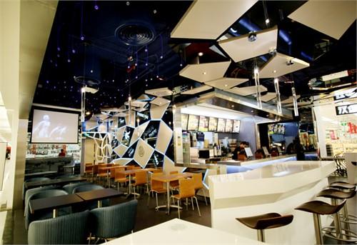 汉堡吧台设计图