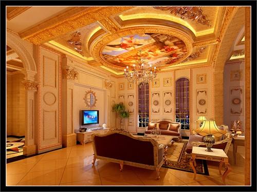 雅居乐独栋别墅_美国室内设计中文网