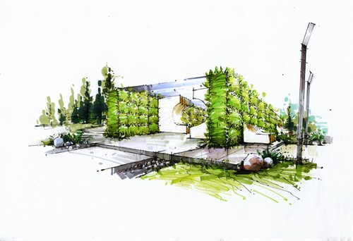 景觀小品_美國室內設計中文網