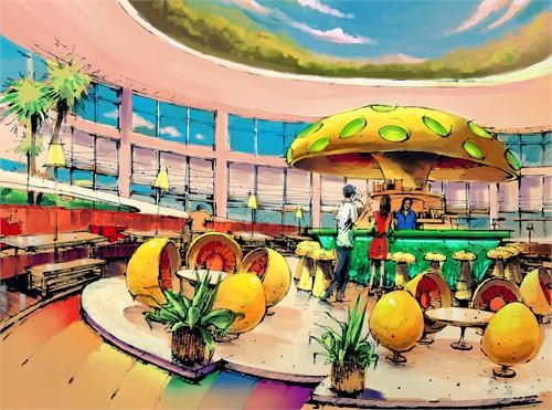 儿童餐厅_儿童餐厅装修效果图_餐厅设计