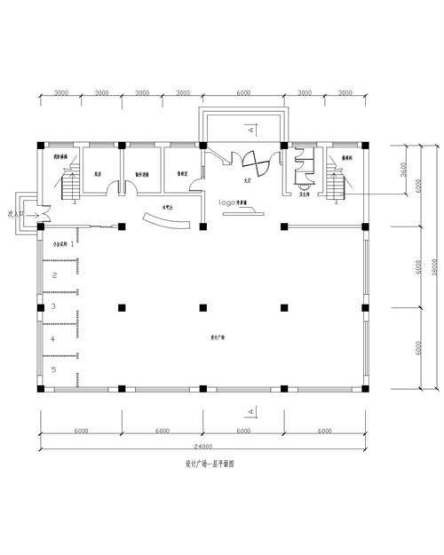 设计广场——一层平面图