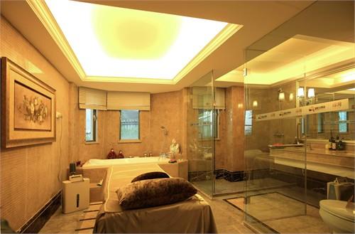 丽日天鹅湖c25别墅样板房室内设计