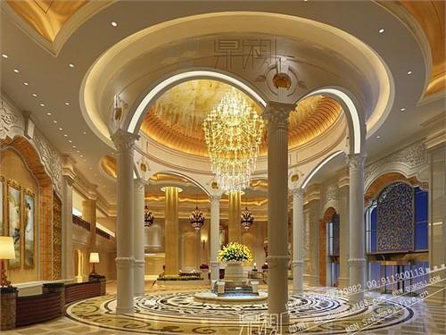 酒店效果图|酒店大堂效果图|效果图制作|室内效果图