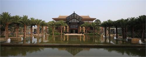 海口鸿洲埃德瑞皇家园林酒店定位为五星级休闲度假酒店.