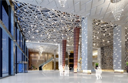 中型酒店机构设置组织结构图