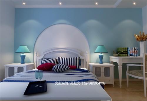 手绘室内欧式拱门造型
