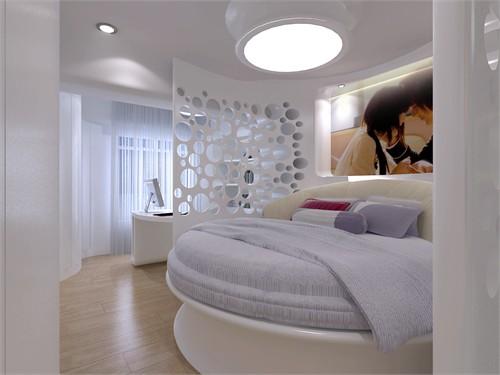 小户型白色调方案设计_美国室内设计中文网