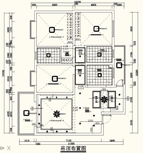 聚宝苑 8栋查哥现代简约_美国室内设计中文网; 办公室天花图图片下载