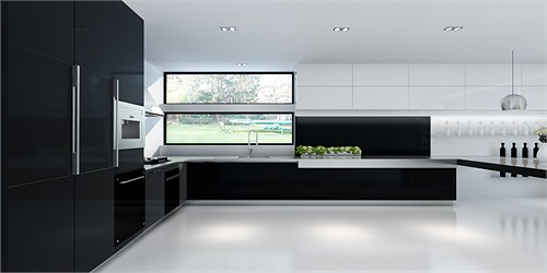 长窗厨房装修效果图