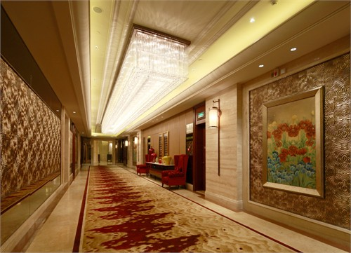 东南亚风格酒店大堂室内效果图