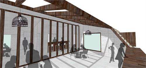 屋顶花园概念图