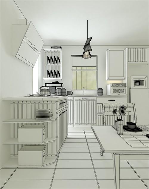 我爱厨房-中小户型厨房设计_美国室内设计中文网