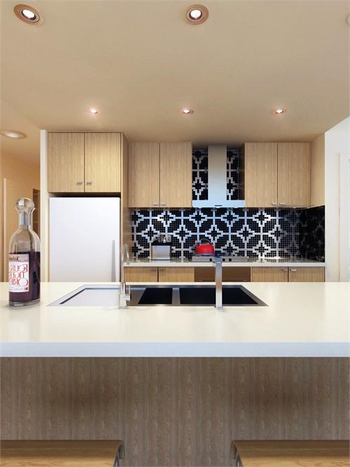 loft厨房空间设计_美国室内设计中文网