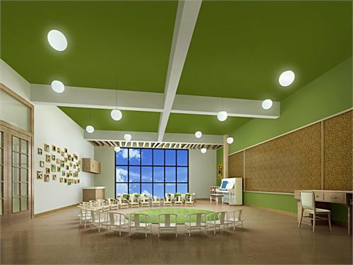 幼儿园室内装饰图片大全 幼儿园过道设计图 室内设计