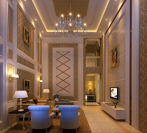 时尚欧式别墅_美国室内设计中文网