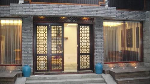 杭州龙井山园餐厅外立面及室内设计