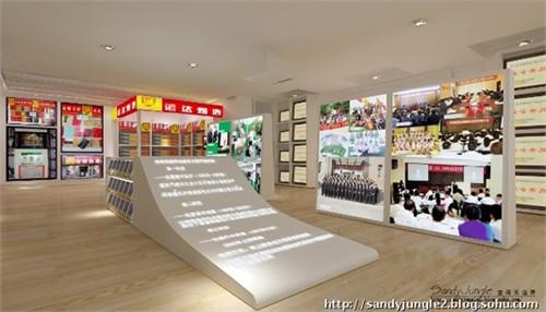 荣誉展示 烟草公司荣誉室设计 高清图片