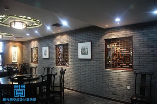 室内饭店餐厅手绘