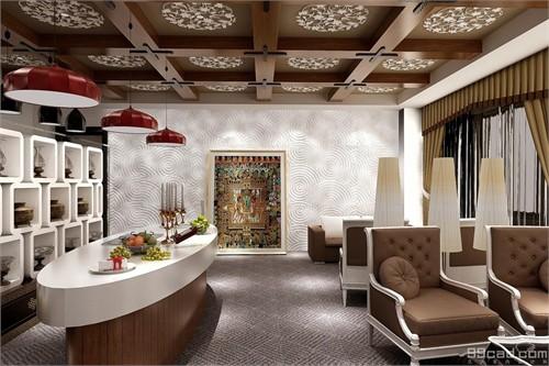 阿森设计-和藤医药西藏展厅_美国室内设计中文网图片