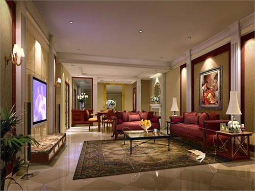 硅谷别墅设计效果图_美国室内设计中文网