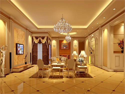 600m2独栋别墅设计风格:简约欧式