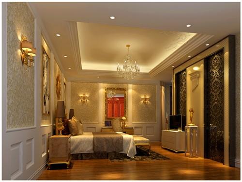 巴罗克风格图案立面背景配合现代瓦沙奇贴金箔马赛克
