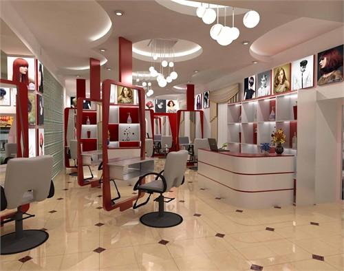 美发店设计_美国室内设计中文网