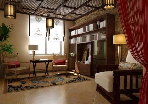 东南亚风格家居软装案例