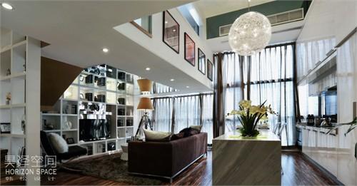 葡萄庄园左岸loft样板房设计实景赏析——魅影