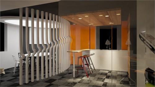一个创业办公室的设计