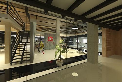 大木办公室设计