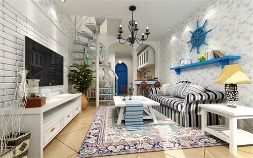 方案下的罗曼蒂克_美国室内设计中文网小a方案家装设计蓝天图片