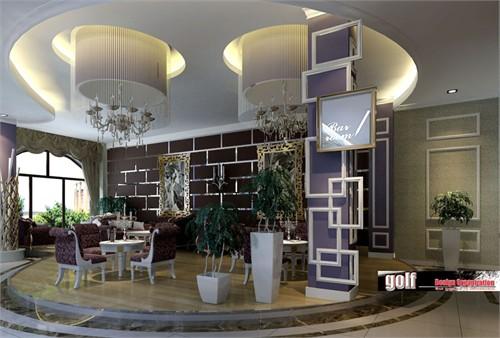 会所内 简欧咖啡厅_美国室内设计中文网