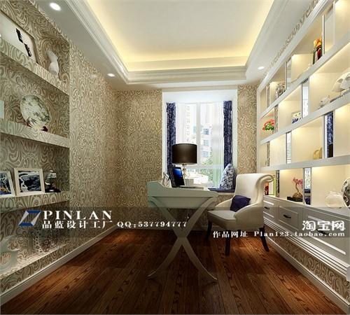 主要材料:墙纸,白色油漆,灰镜,欧式线条,大理石 空间格局:三房两厅一
