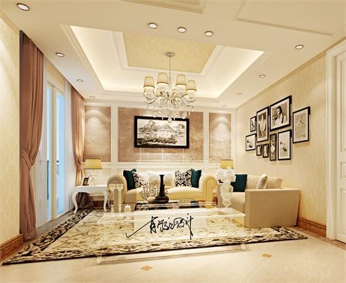 设计风格上采用清新优雅的现代欧式,通过运用现代美学技术手法将原