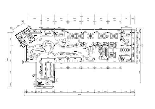 办公空间顶棚设计图_室内顶棚设计平面图