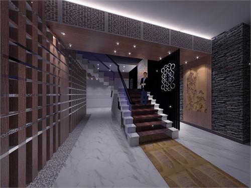 由于空间层高解决10米以及结构允许的条件下,建以钢结构为主的二层