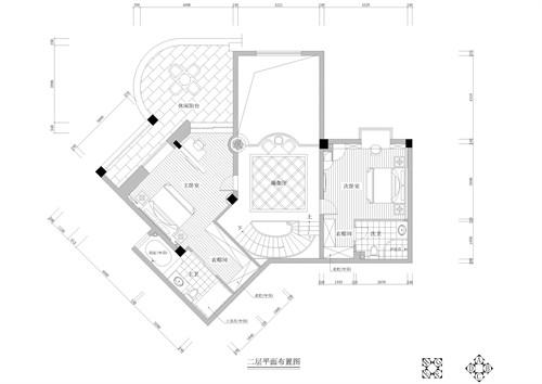 二层原结构平面图
