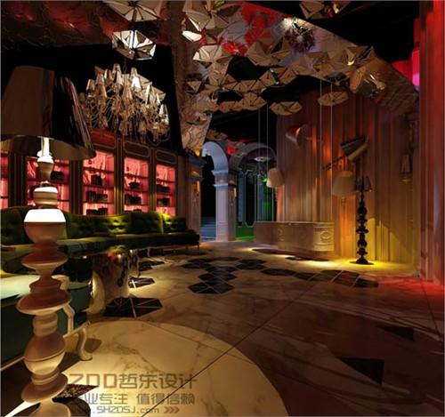 欧式酒吧设计效果图-徐州爱特纳酒吧设计
